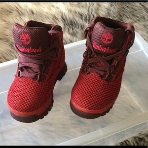 RED TIMBERLAND BABY BOY-NEW W/O BOX